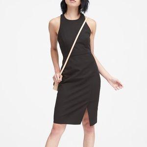 Banana Republic petite little black dress/black